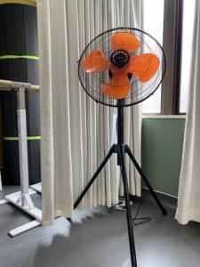 換気 工業扇 扇風機 高田馬場 レンタルスタジオ ウイルス対策