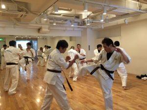 護身術空手 東京新宿教室